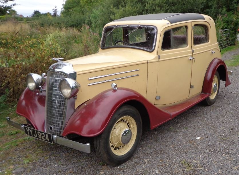 1936 Vauxhaall Dx Holbrook Suffolk Touring Saloon For Sale (picture 1 of 6)