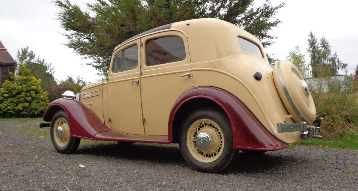 1936 Vauxhaall Dx Holbrook Suffolk Touring Saloon For Sale (picture 2 of 6)