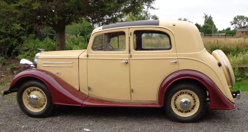 1936 Vauxhaall Dx Holbrook Suffolk Touring Saloon For Sale (picture 3 of 6)