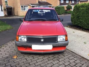1988 Vauxhall Nova 1300L Saloon One Previous Owner SOLD
