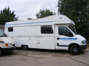 2002 Vauxhall Movano  6 berth BARGAIN For Sale