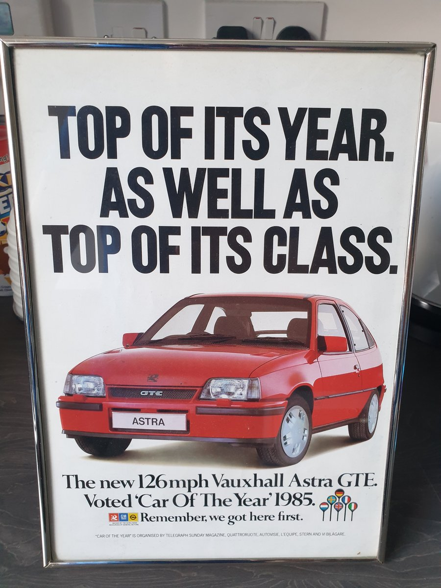 1985 Original Vauxhall Astra GTE advert For Sale (picture 1 of 2)