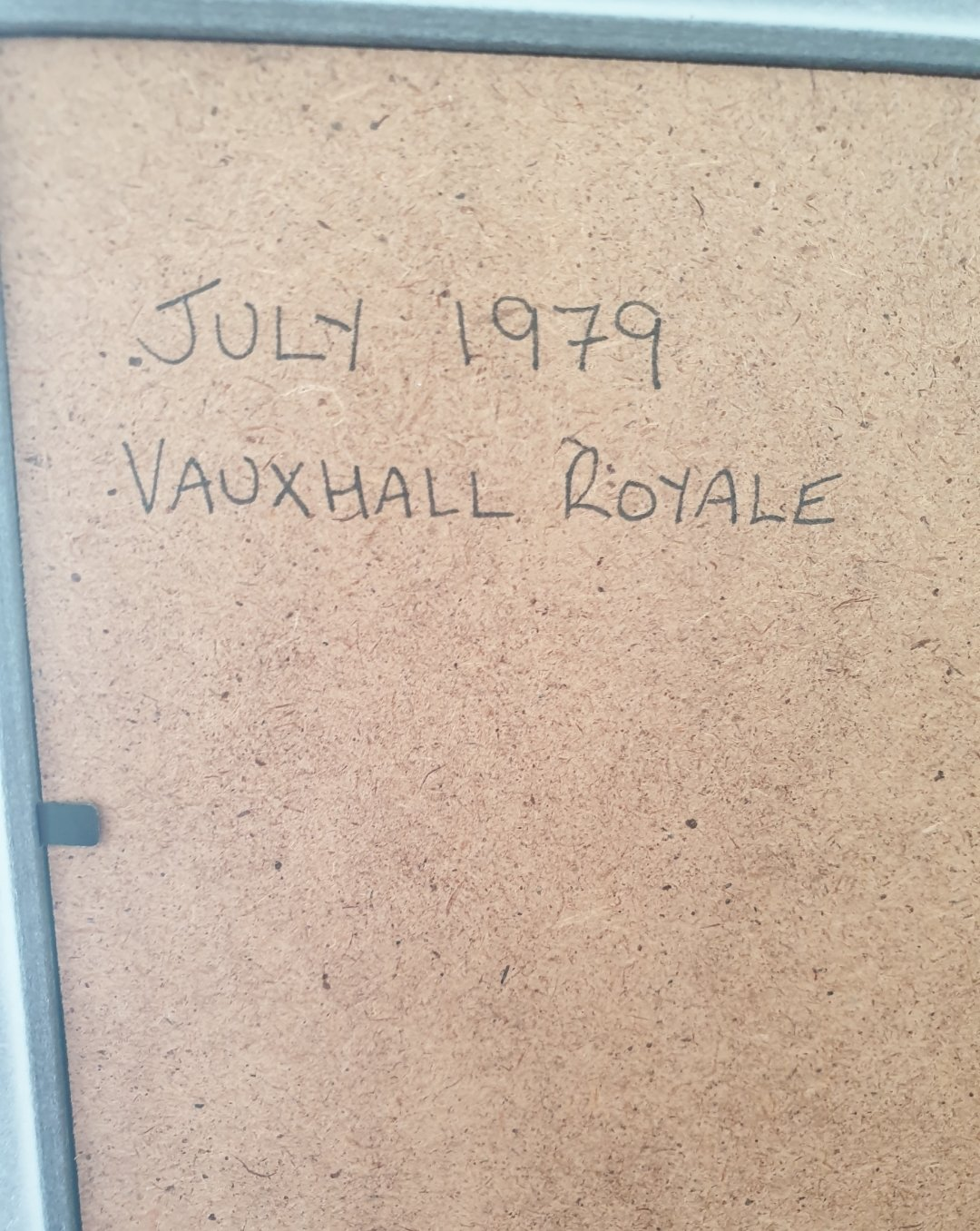 1979 Original Vauxhall Royale Advert For Sale (picture 2 of 2)
