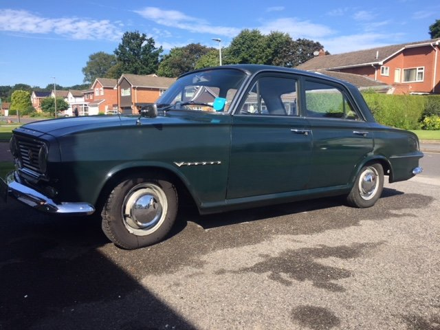1963 Vauxhall Victor FB ONE owner car with full history SOLD (picture 1 of 6)