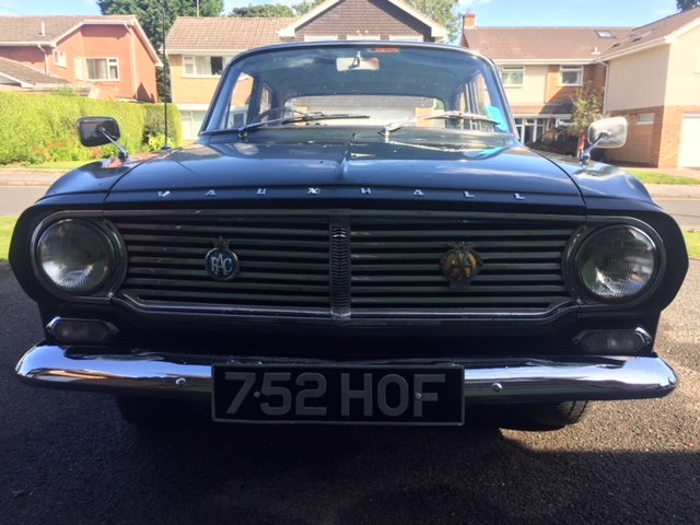 1963 Vauxhall Victor FB ONE owner car with full history SOLD (picture 2 of 6)