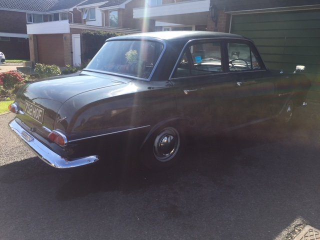 1963 Vauxhall Victor FB ONE owner car with full history SOLD (picture 6 of 6)