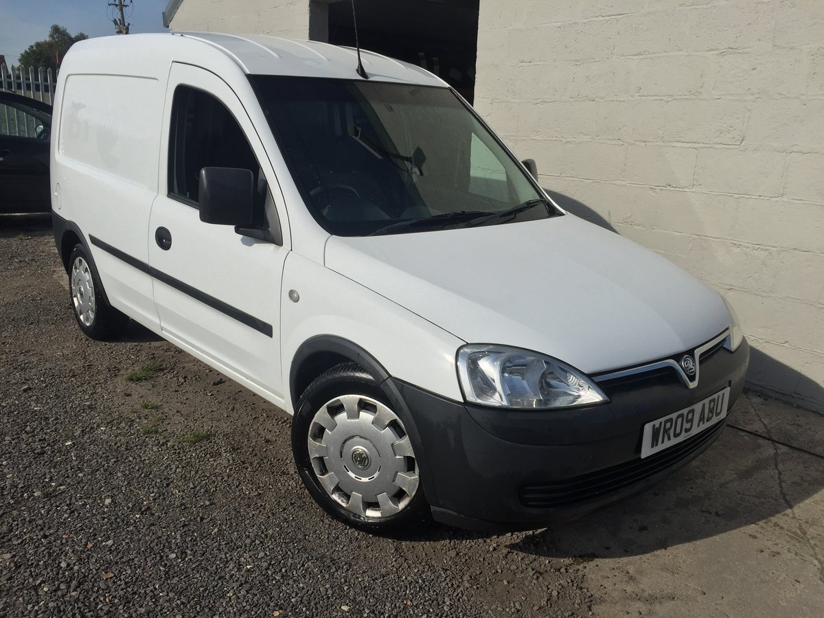 2009 VAUXHALL COMBO 1.3 CDTi  SOLD (picture 1 of 6)