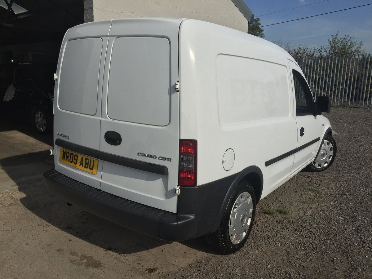 2009 VAUXHALL COMBO 1.3 CDTi  SOLD (picture 2 of 6)