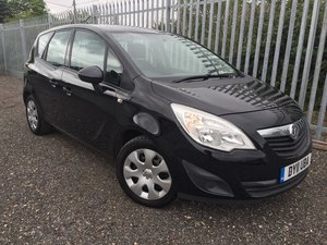 2011/11 Vauxhall Meriva 1.4 Petrol Turbo 'Exclusiv'  For Sale