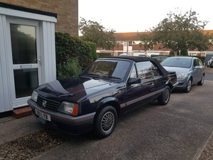 1986 Vauxhall Cavalier  For Sale