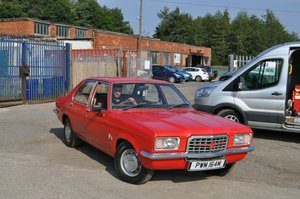 1974 VAUXHALL VICTOR FE LARGE HISTORY FILE & 1ST BILL OF SALE