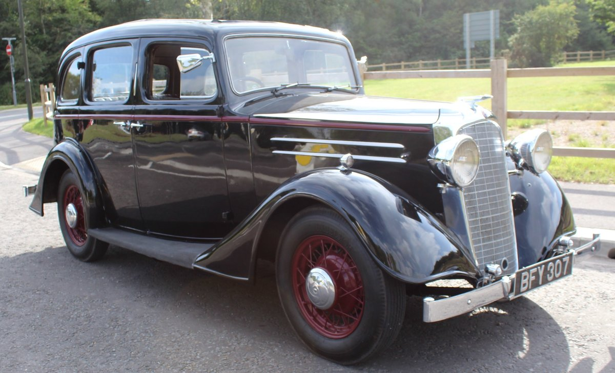 1935 Vauxhall Light 14/6 De Luxe Saloon Beautiful  For Sale (picture 1 of 6)