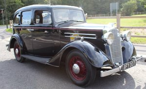 1935 Vauxhall Light 14/6 De Luxe Saloon Beautiful  For Sale