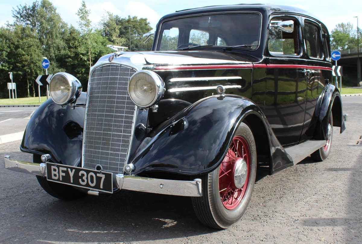 1935 Vauxhall Light 14/6 De Luxe Saloon Beautiful  For Sale (picture 2 of 6)