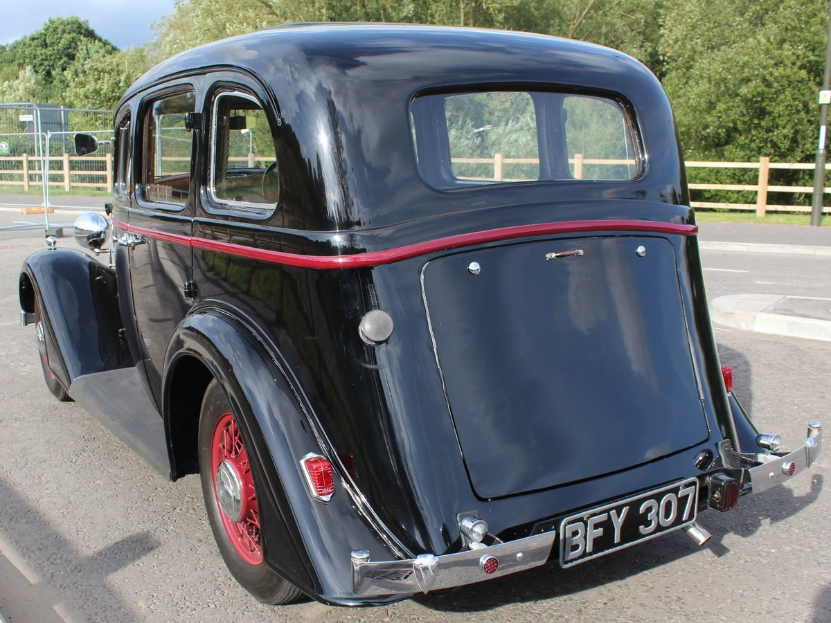 1935 Vauxhall Light 14/6 De Luxe Saloon Beautiful  For Sale (picture 3 of 6)