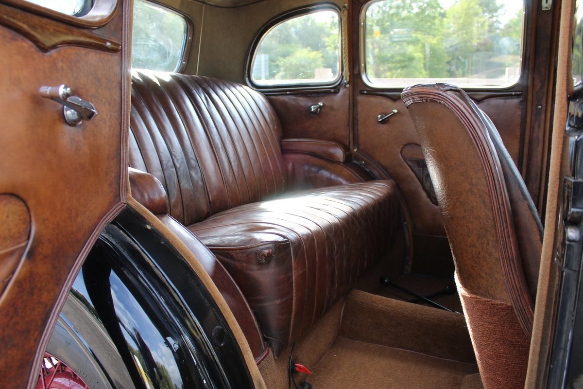 1935 Vauxhall Light 14/6 De Luxe Saloon Beautiful  For Sale (picture 4 of 6)