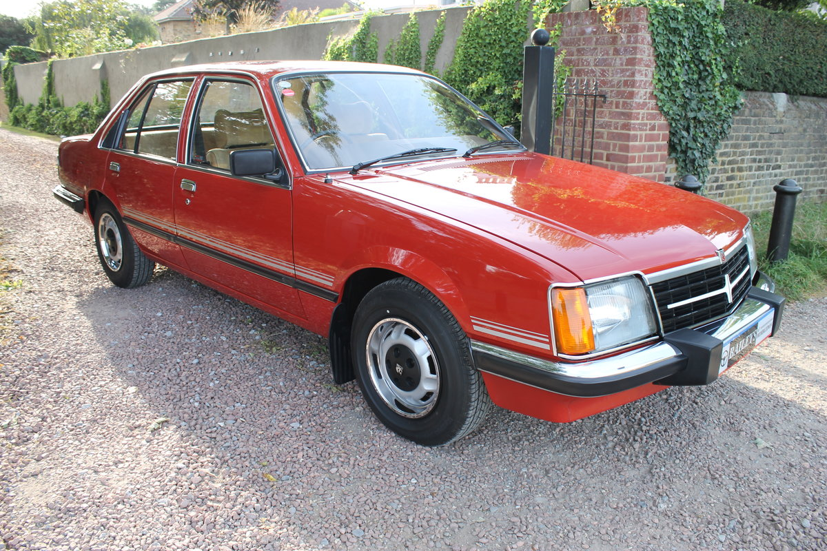 1981 Museum Quality Vauxhall Viceroy 2500 With Just 39k Miles For Sale (picture 1 of 6)