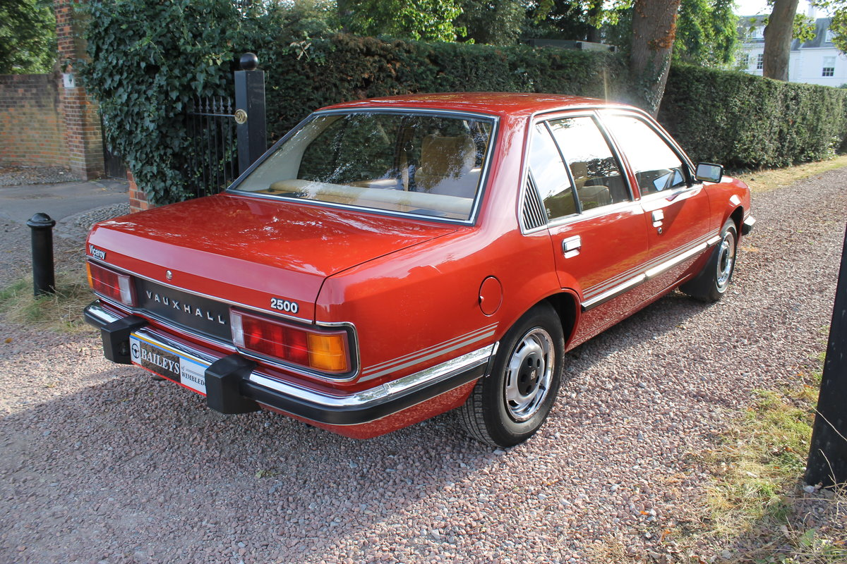 1981 Museum Quality Vauxhall Viceroy 2500 With Just 39k Miles For Sale (picture 2 of 6)