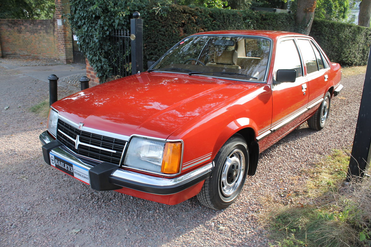 1981 Museum Quality Vauxhall Viceroy 2500 With Just 39k Miles For Sale (picture 3 of 6)