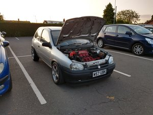 2000 Vauxhall Corsa B 3.0 V6 Sleeper Modified  For Sale