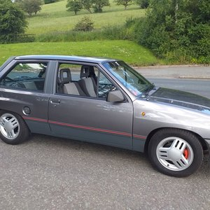1989 Vauxhall Nova SR 1.3  For Sale