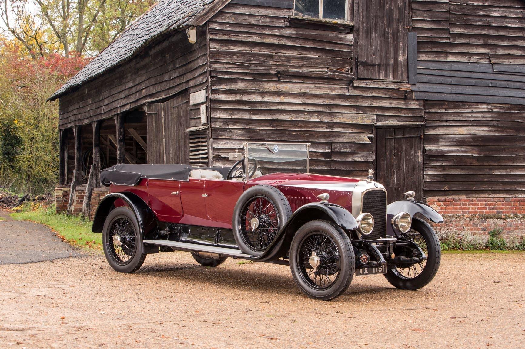 1923 Vauxhall 23/60 Kington Tourer Vintage Show Winner For Sale (picture 1 of 6)