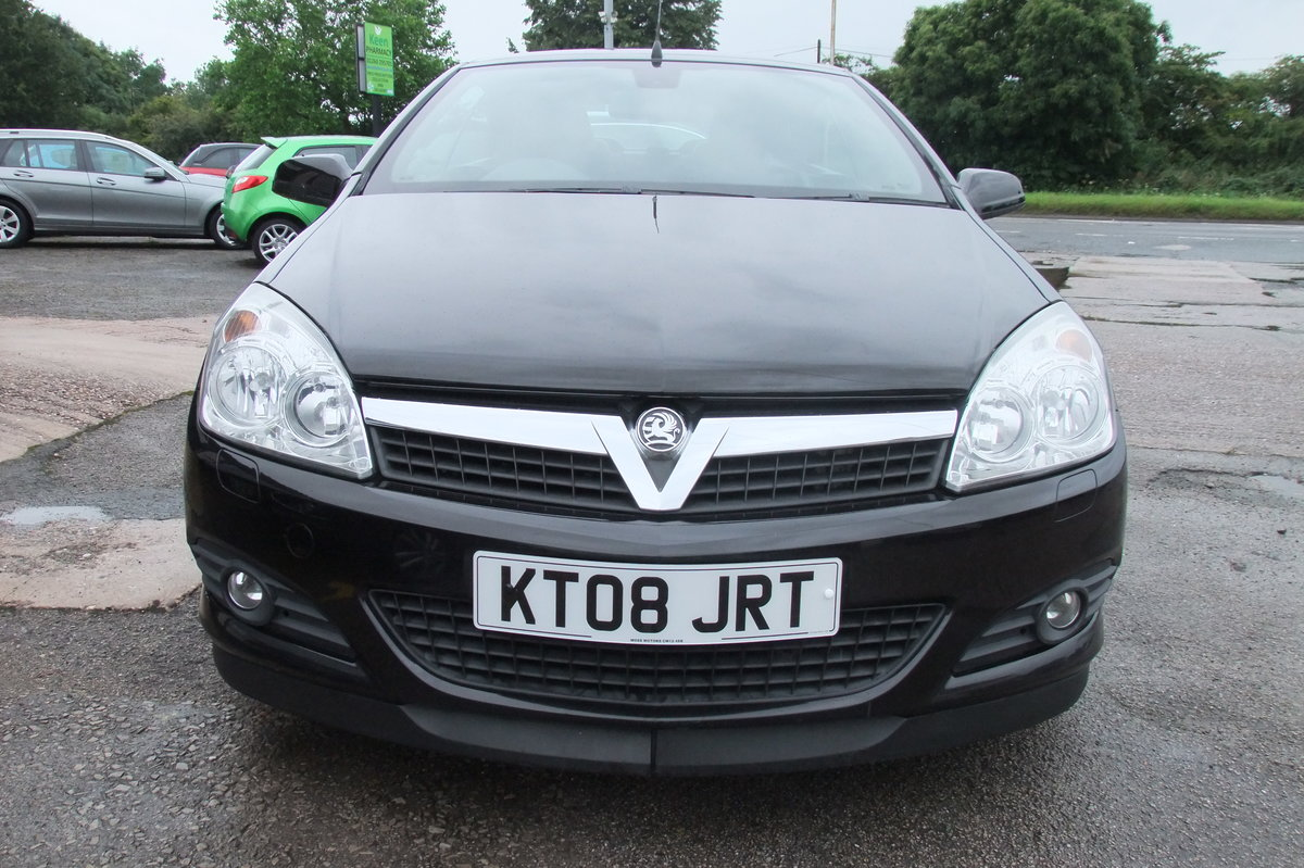 2008 VAUXHALL ASTRA 1.8 TWIN TOP DESIGN 3DR For Sale (picture 3 of 6)