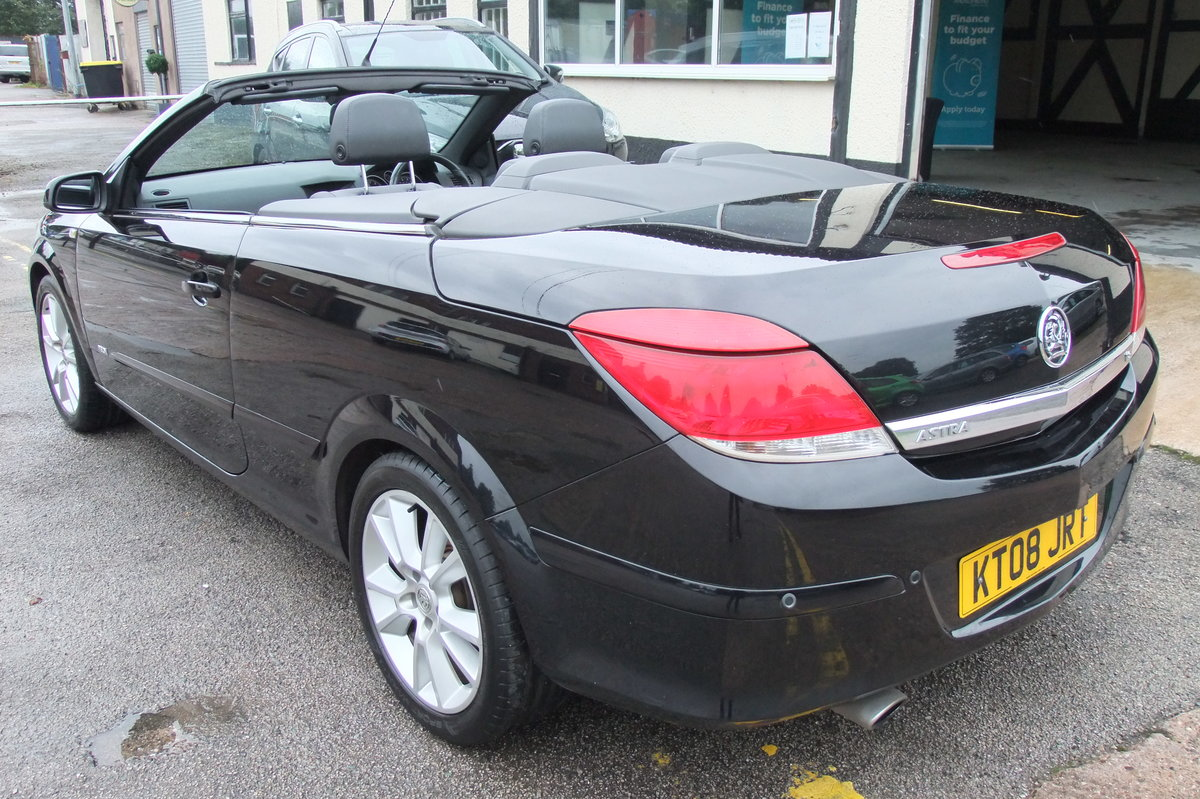 2008 VAUXHALL ASTRA 1.8 TWIN TOP DESIGN 3DR For Sale (picture 4 of 6)