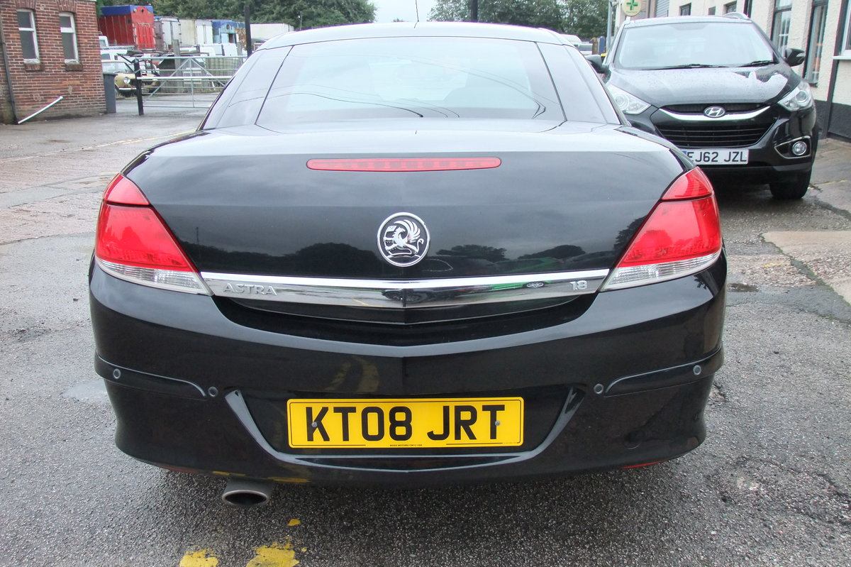 2008 VAUXHALL ASTRA 1.8 TWIN TOP DESIGN 3DR For Sale (picture 5 of 6)