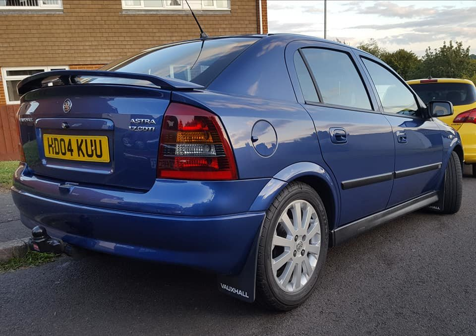 2004 Vauxhall Astra 1.7 Sport, cdti, becoming rare now For Sale (picture 2 of 6)