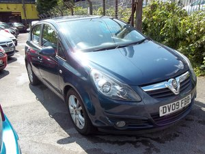 2009 Vauxhall Corsa 1.2 SXi A/C For Sale