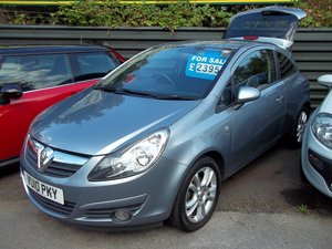 2010 Vauxhall Corsa 1.2 SXi For Sale