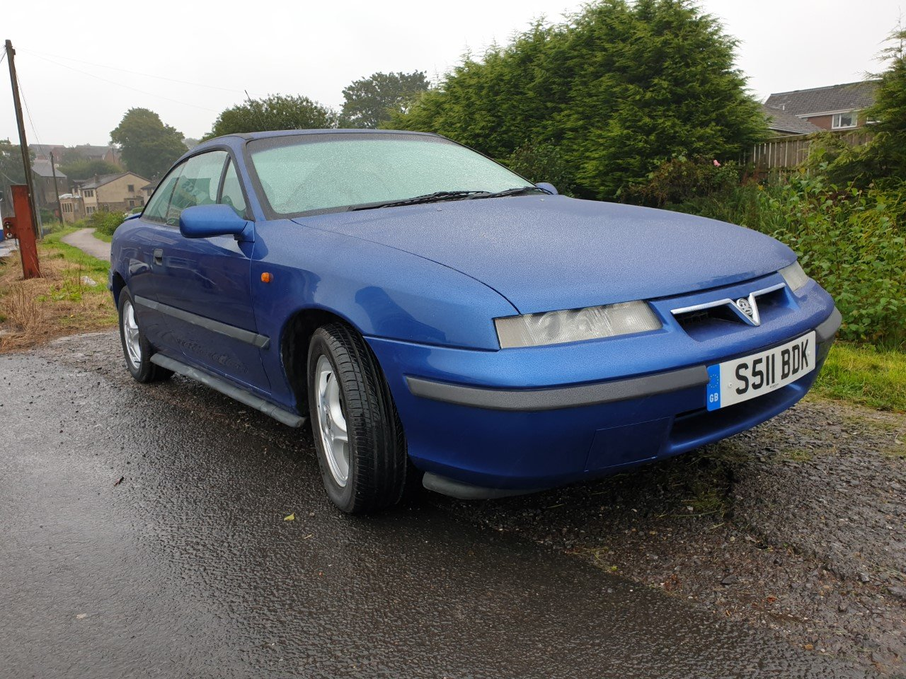 1998 Vauxhall Calibra SE8 in Metallic Blue. For Sale (picture 1 of 6)