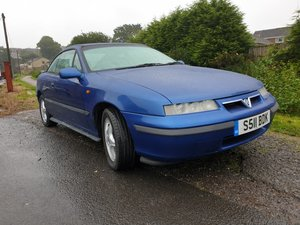 1998 Vauxhall Calibra SE8 in Metallic Blue. For Sale
