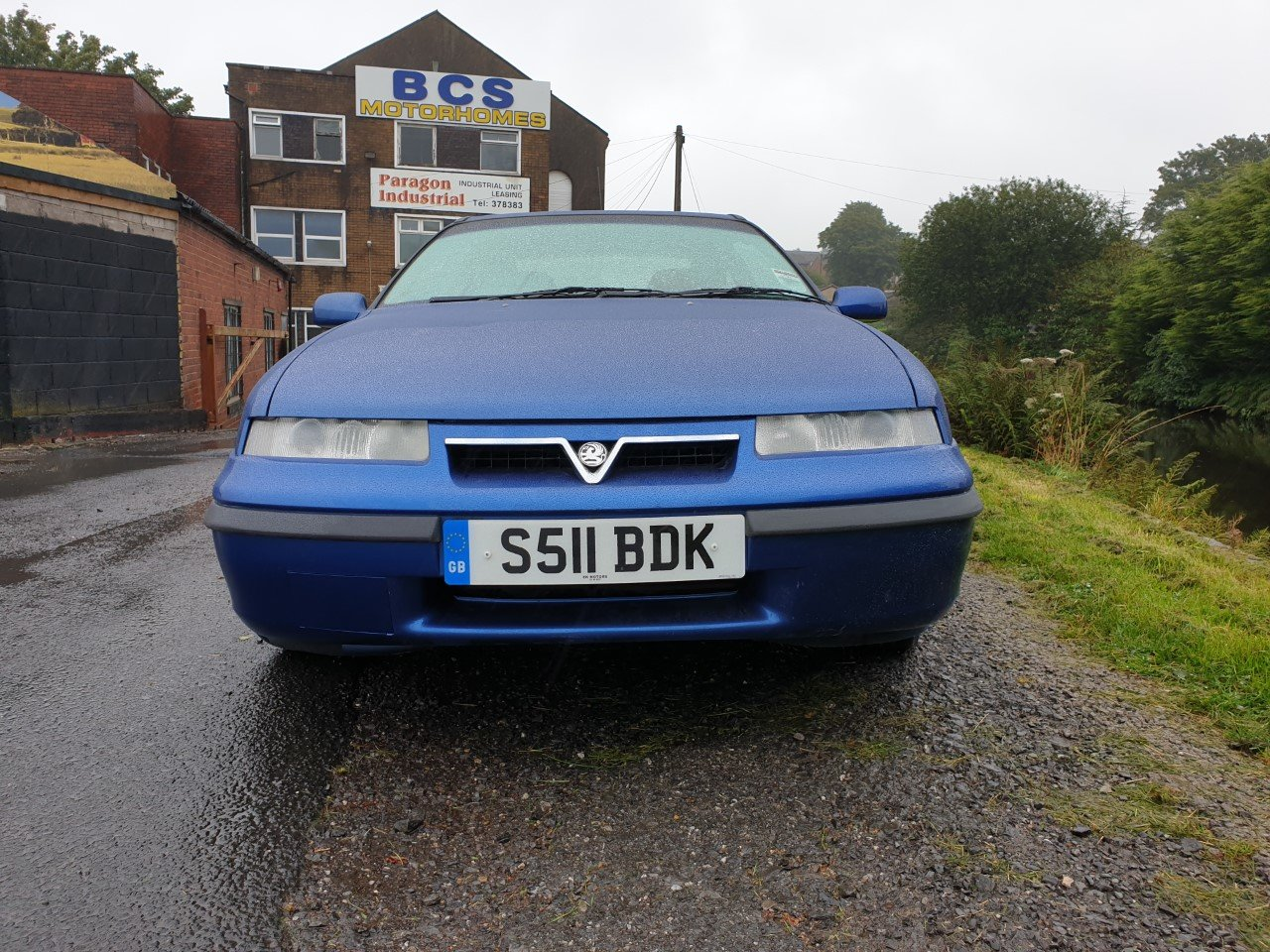 1998 Vauxhall Calibra SE8 in Metallic Blue. For Sale (picture 2 of 6)