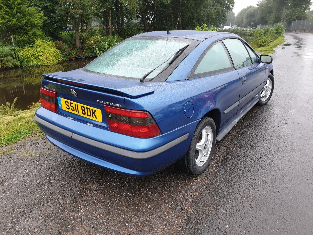 1998 Vauxhall Calibra SE8 in Metallic Blue. For Sale (picture 3 of 6)