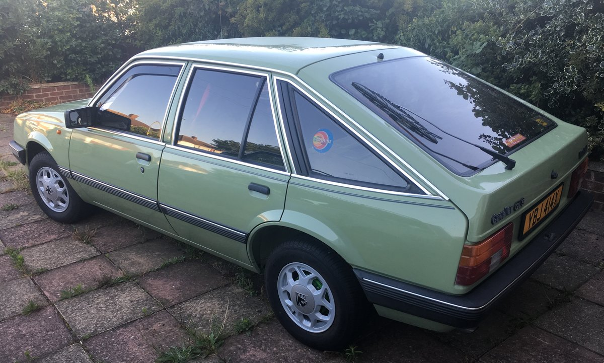 1982 Vauxhall Cavalier GLS SOLD (picture 1 of 6)