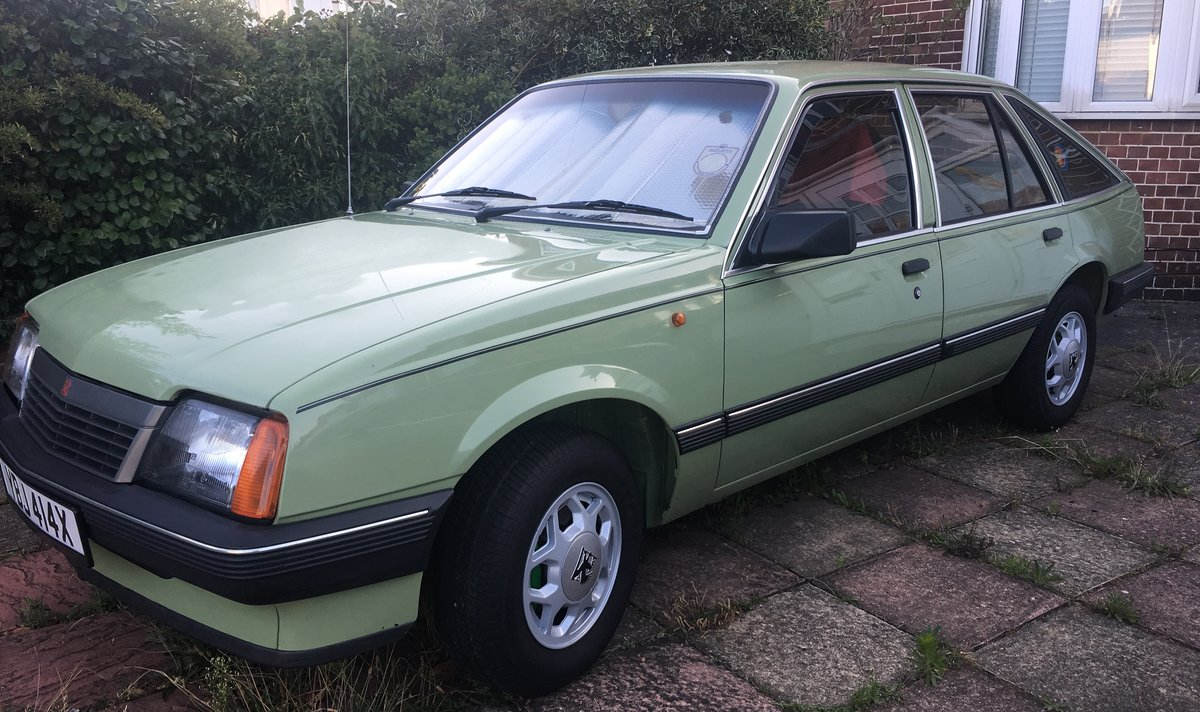 1982 Vauxhall Cavalier GLS SOLD (picture 2 of 6)