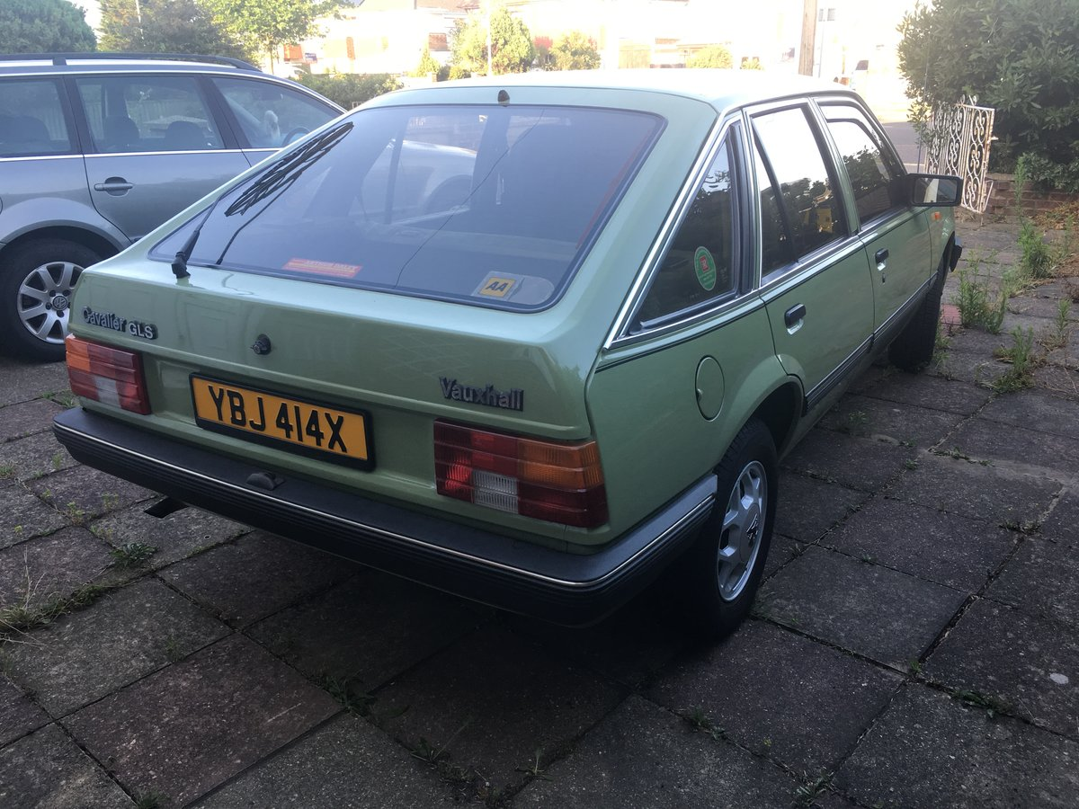 1982 Vauxhall Cavalier GLS SOLD (picture 5 of 6)