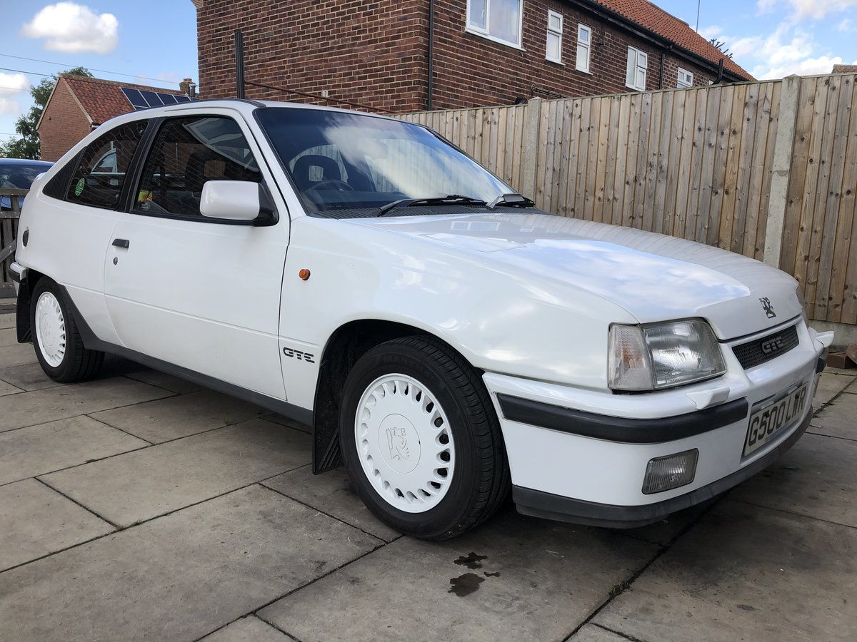 1990 Vauxhall Astra GTE 8v low mileage For Sale (picture 1 of 6)