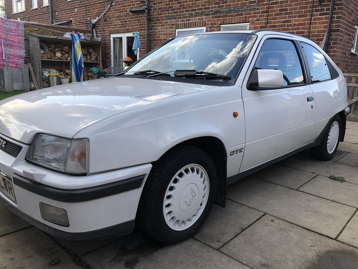 1990 Vauxhall Astra GTE 8v low mileage For Sale (picture 2 of 6)