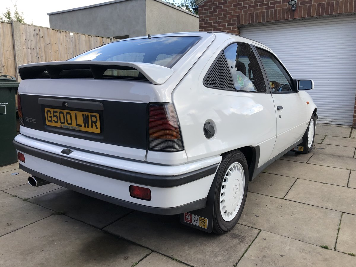 1990 Vauxhall Astra GTE 8v low mileage For Sale (picture 3 of 6)