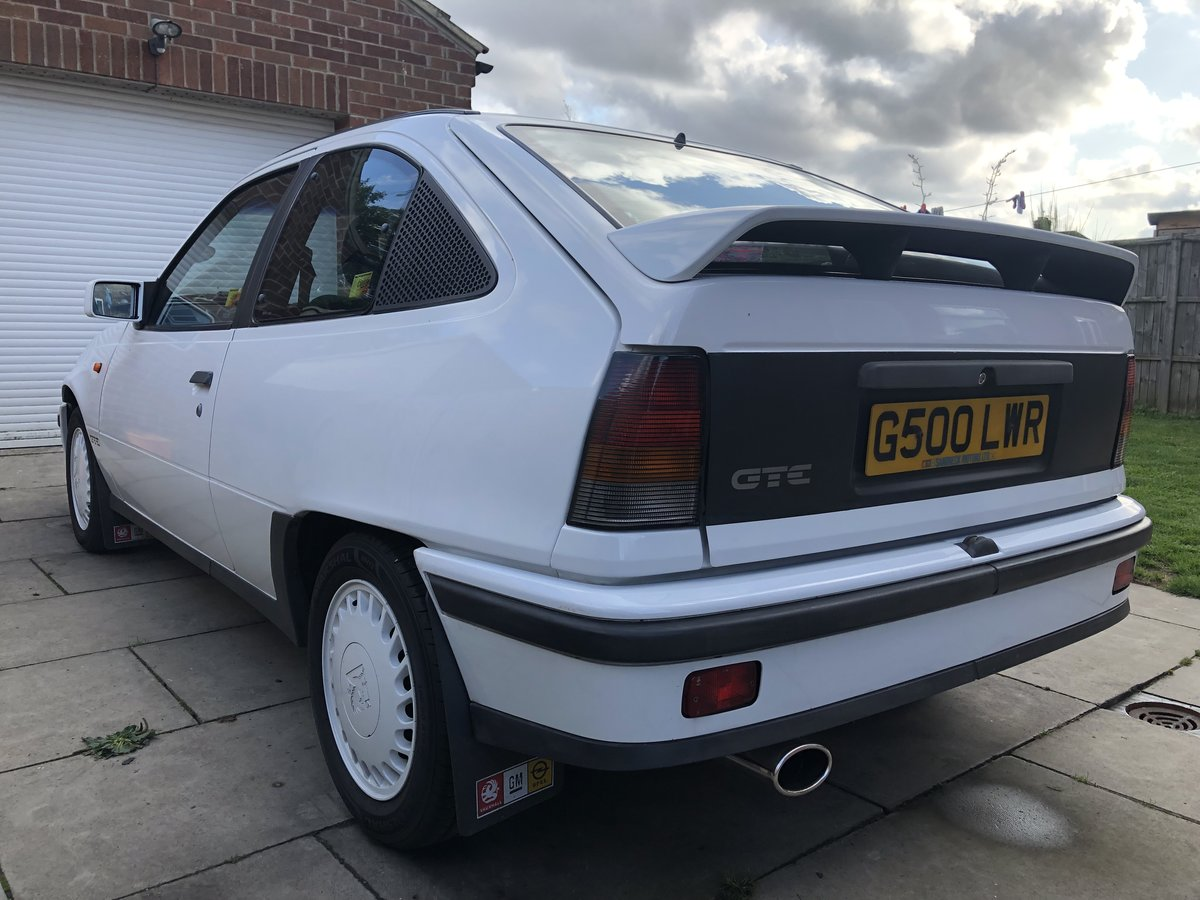1990 Vauxhall Astra GTE 8v low mileage For Sale (picture 4 of 6)