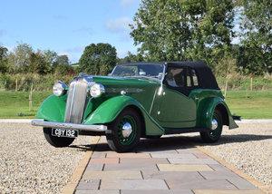 1936 Vauxhall 14hp DX Light Six Tourer, Coachwork by Tickfor