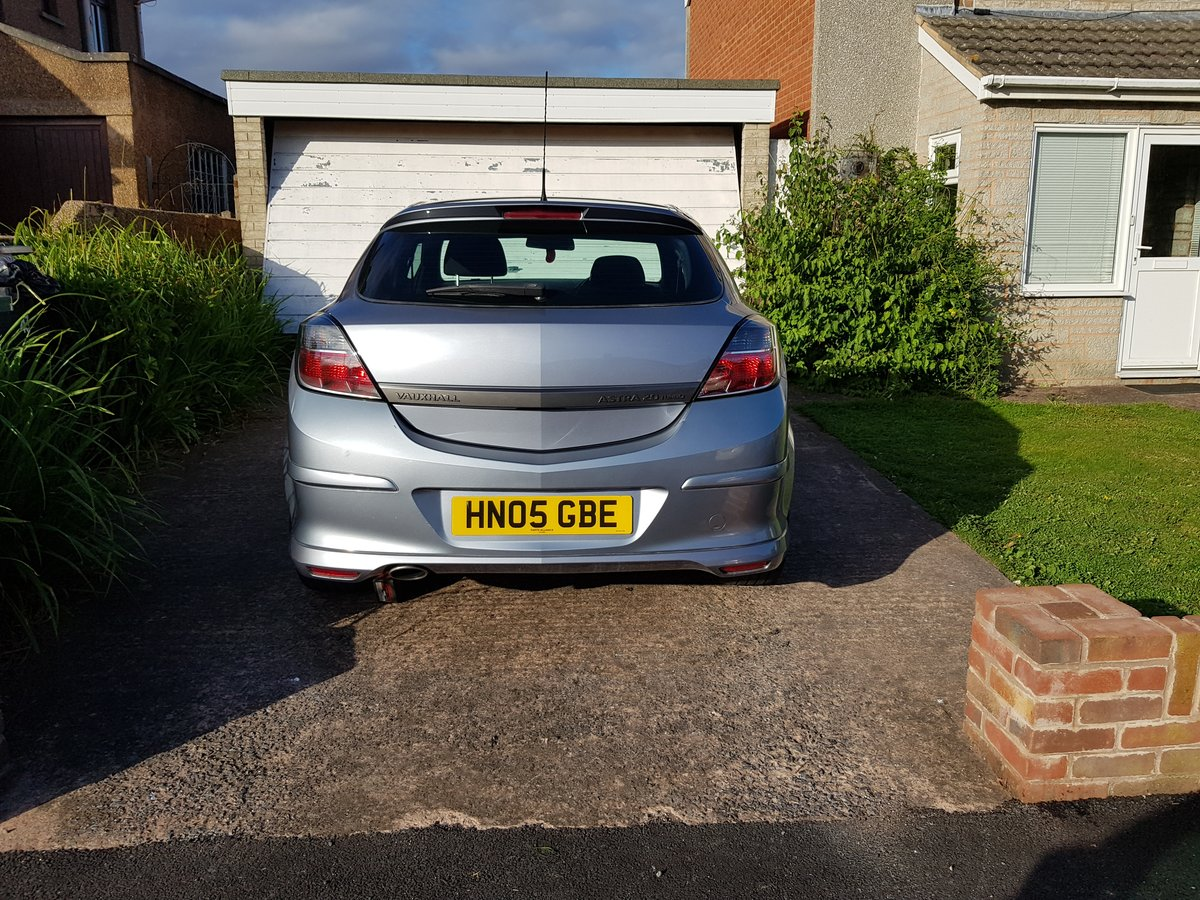 2005 Vauxhall Astra SRI 2.0 Turbo For Sale (picture 5 of 6)