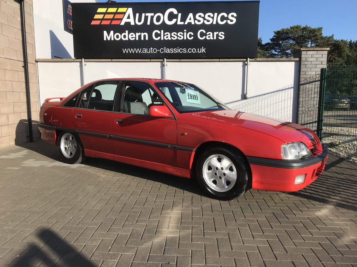 1989 Vauxhall Carlton 3000 Gsi, Manual, Restored  For Sale (picture 1 of 6)