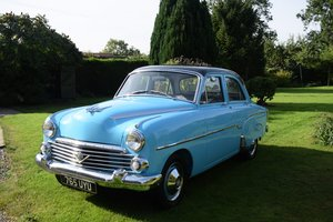 1956 VAUXHALL VELOX E - RARE, STUNNING, LOW MILES! For Sale