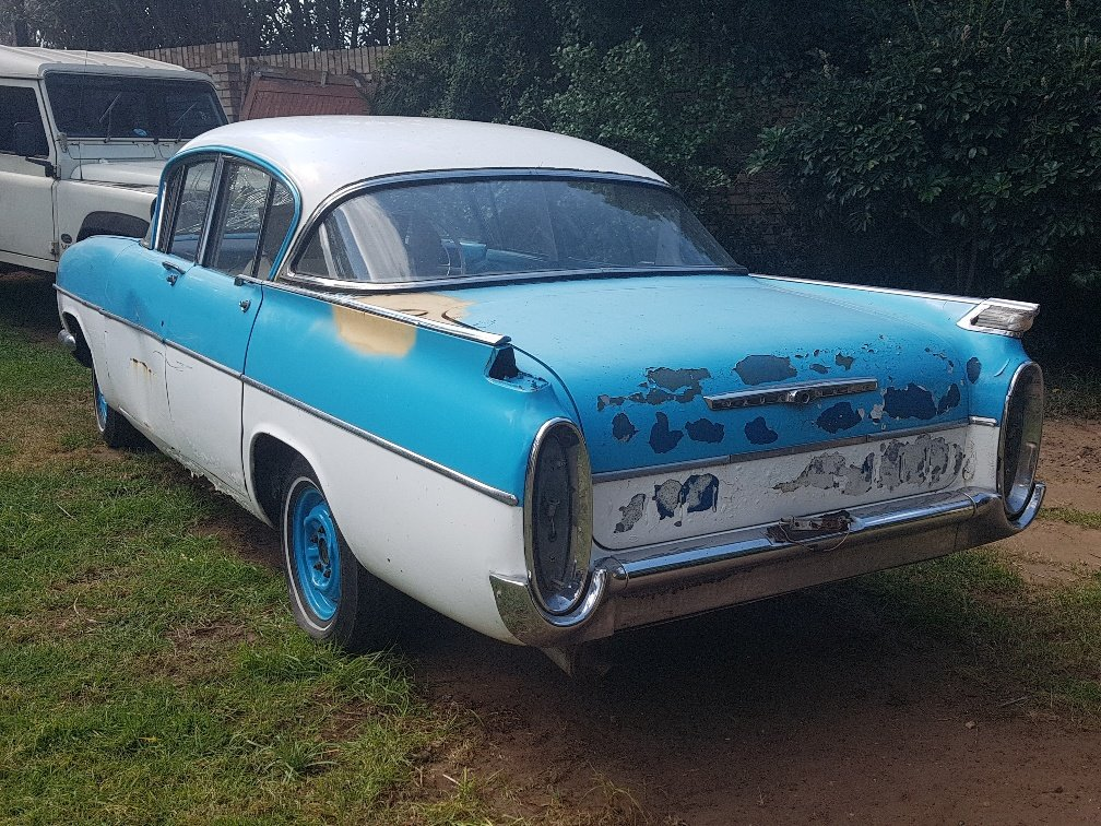 1960 Vauxhall Cresta PA for restoration. SOLD (picture 1 of 6)