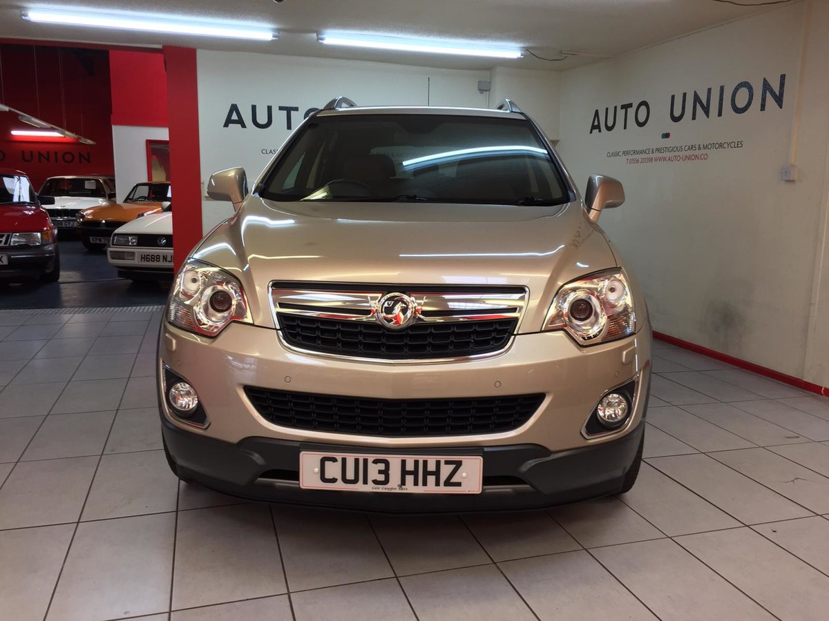 2013 VAUXHALL ANTARA SE NAV CDTI 4x4 For Sale (picture 1 of 6)
