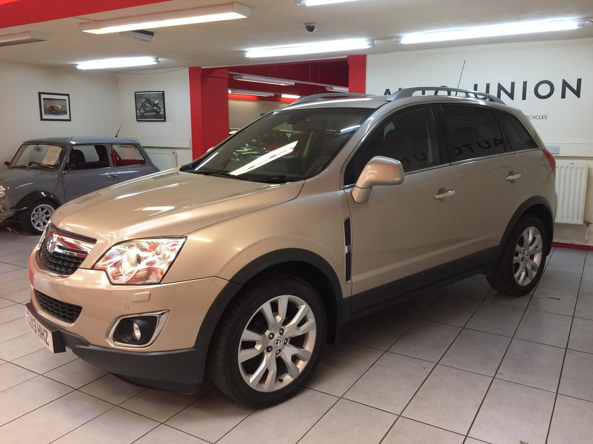 2013 VAUXHALL ANTARA SE NAV CDTI 4x4 For Sale (picture 2 of 6)
